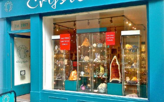 Bath Crystal Shop   Jewellery, Fossils, Gemstones & Carvings